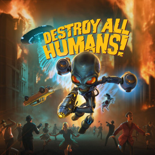 Постер Destroy All Humans! (remake)